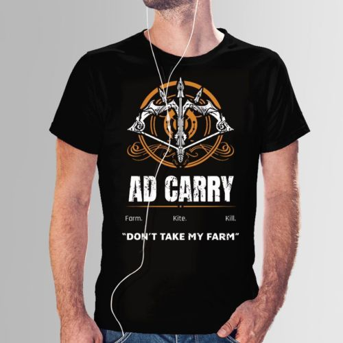 Camiseta AD Carry LOL