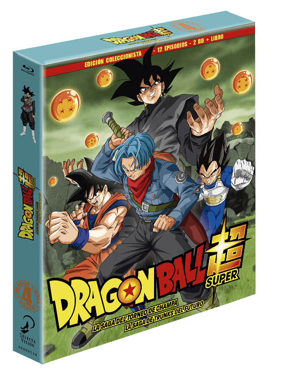 Dragon Ball Super Box. 4